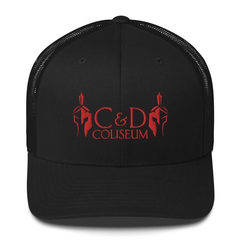 C&D RED STITCH Trucker Caps