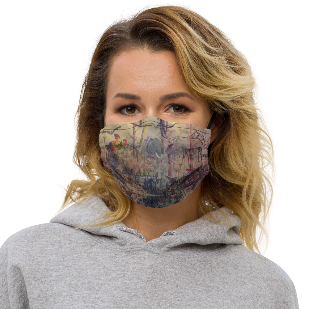 Untouched Wilderness - Face Mask