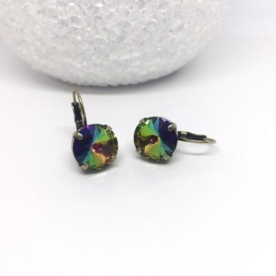 Volcano Crystal Earrings