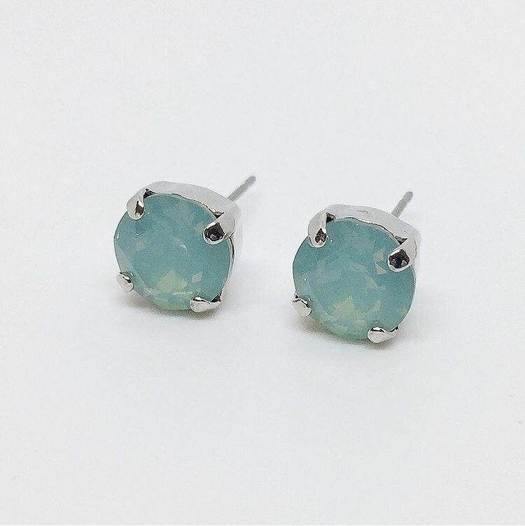 Stud Earrings, Pacific Opal