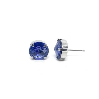 Stud Earrings, Purple