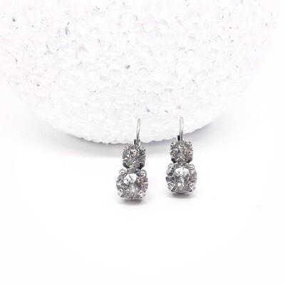 Crystal Earrings,Bridal Earrings,  April Birthstone Earrings