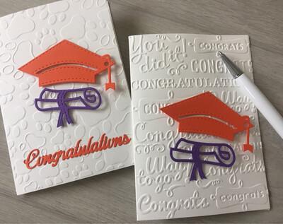 Graduation Card, Clemson Graduation Card