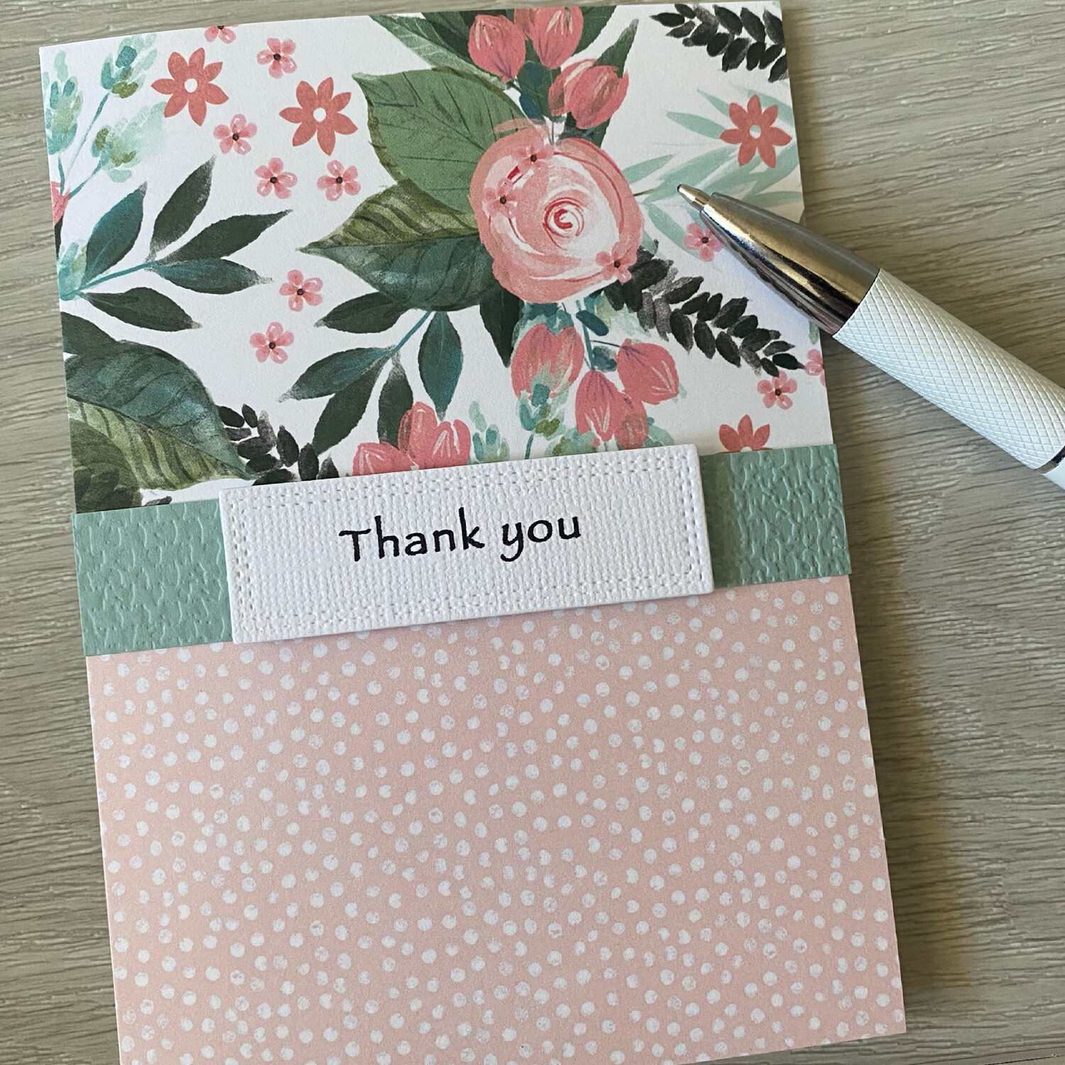 Greeting Card - Thank you card