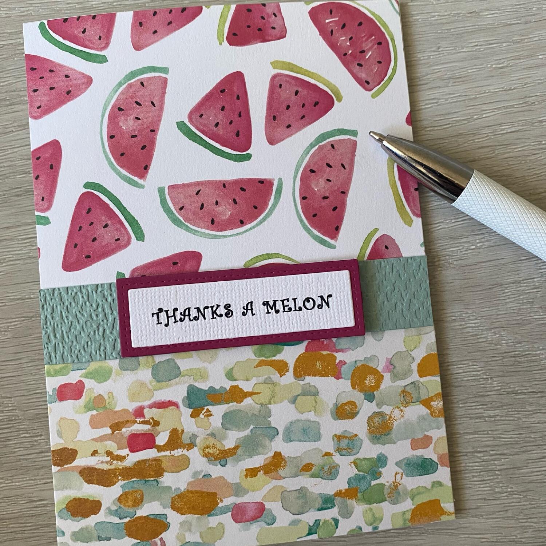 Greeting Card - Thanks a Melon Card