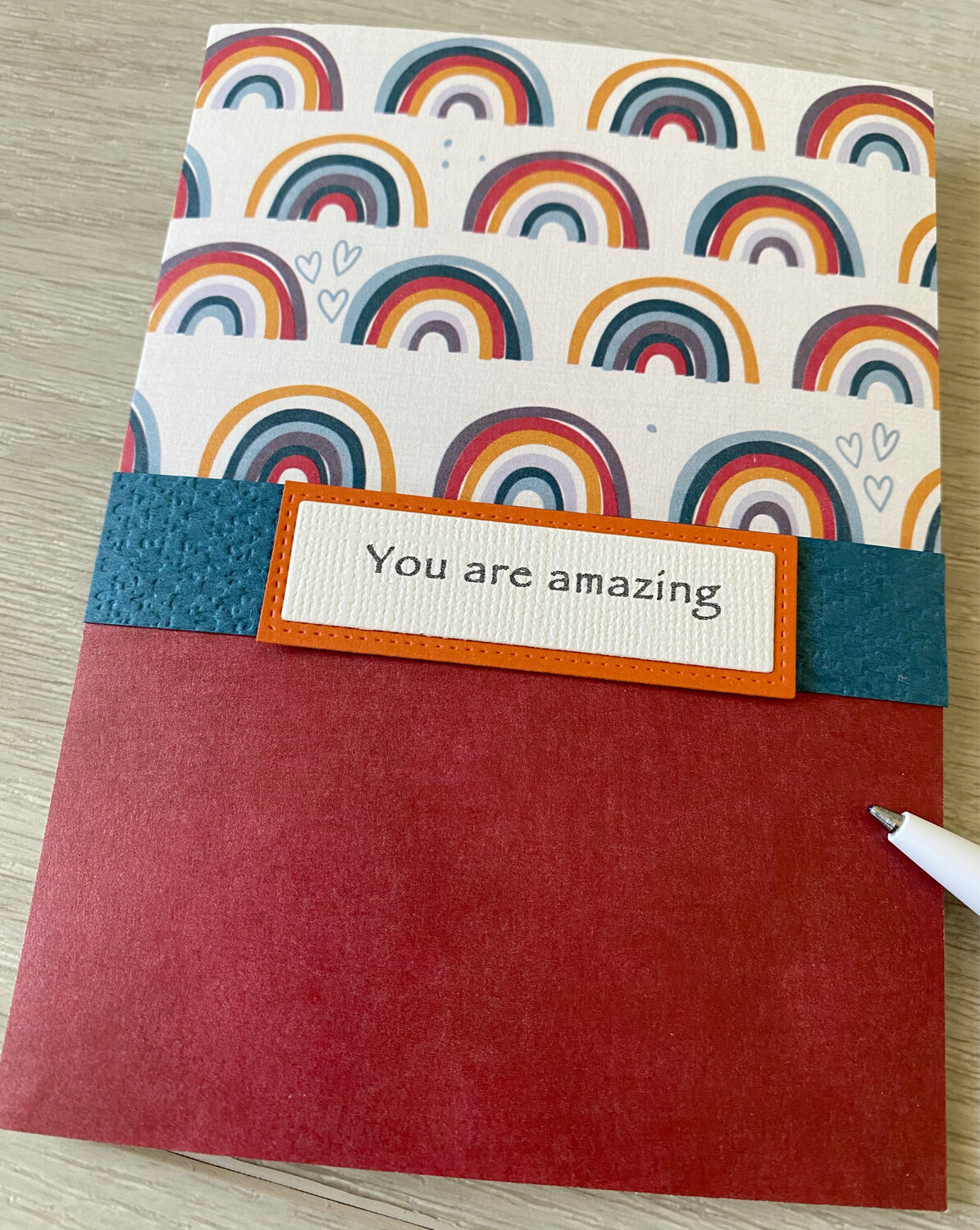 Greeting Card - Rainbow Card/ You are amazing/enough/may all your dreams..