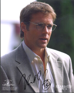 Michael Shanks signed photo