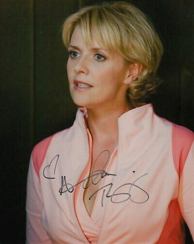 Amanda Tapping signed photo