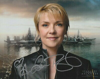 Amanda Tapping signed photo