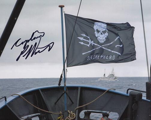 Signed Sea Shepherd Photo