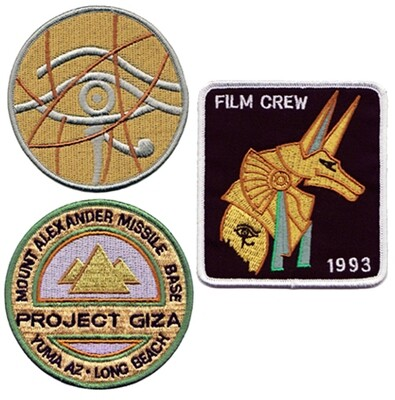 STARGATE FILM PATCH SET (3)