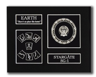 STARGATE EARTH GLYPH DISPLAY