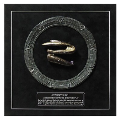 STARGATE MINI ZAT GUN DISPLAY