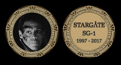 STARGATE COMMEMORATIVE GOLD COIN - APOPHIS