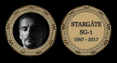 STARGATE COMMEMORATIVE GOLD COIN - BA'AL