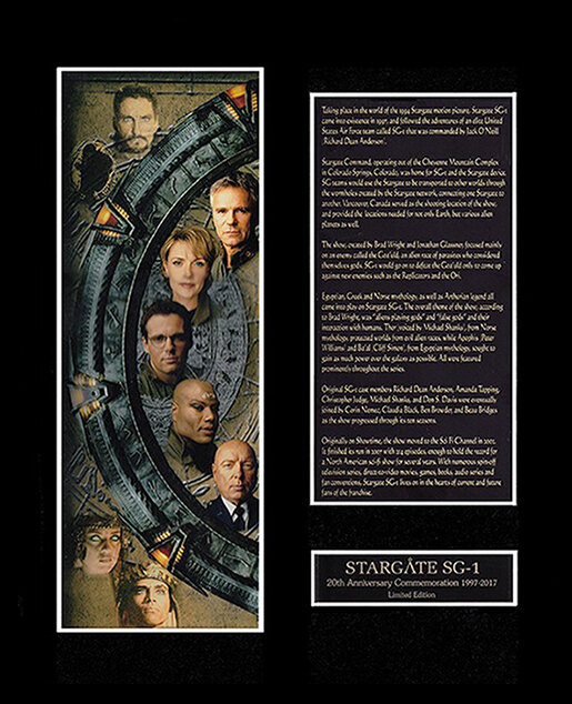 STARGATE 20TH ANNIVERSARY DISPLAY