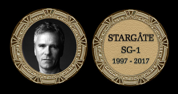 STARGATE COMMEMORATIVE GOLD COIN - JACK O'NEILL