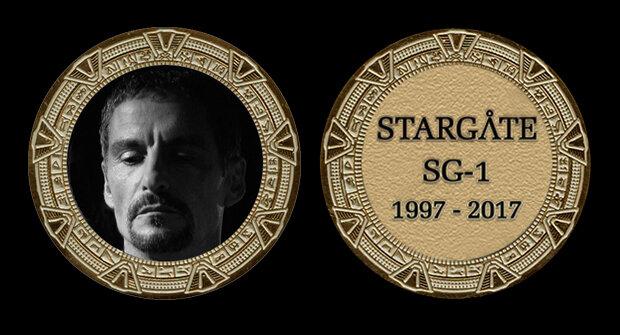 STARGATE COMMEMORATIVE GOLD COIN - BA'AL