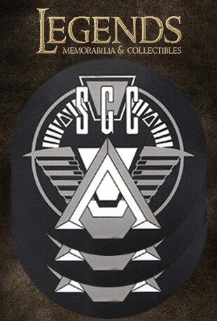 STARGATE SGC COASTER SET (3)