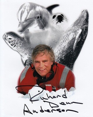 Richard Dean Anderson signed conservation photo #20984