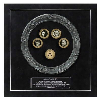 STARGATE GOLD COIN DISPLAY