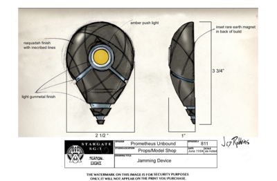 STARGATE CONCEPT: JAMMING DEVICE