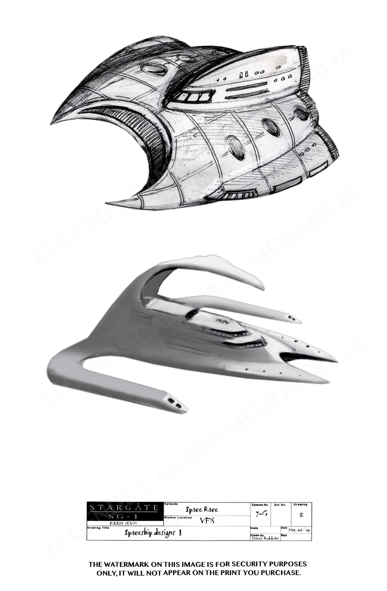 STARGATE CONCEPT ART SPACE SHIP DESIGNS (1)