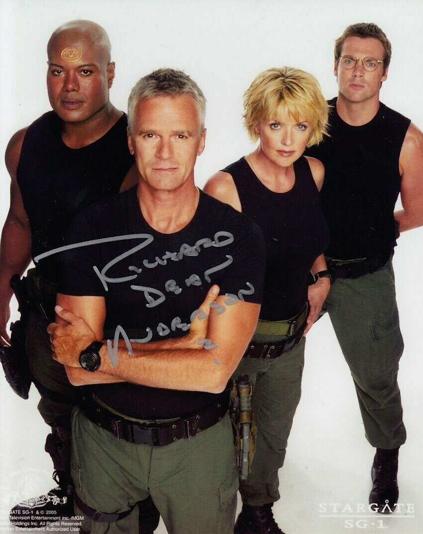 Richard Dean Anderson Signed Photo #19899