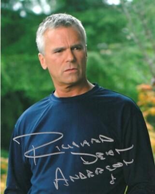 Richard Dean Anderson signed Stargate photo (20493)