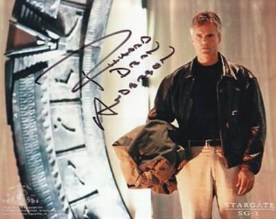 Richard Dean Anderson signed Stargate photo (20524)