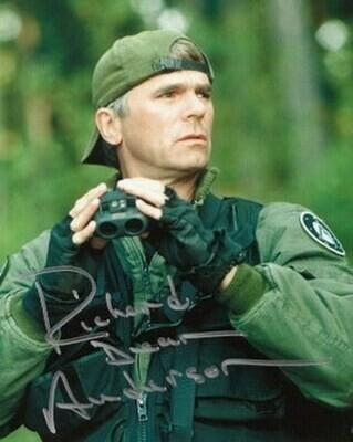 Richard Dean Anderson signed Stargate photo (63297)