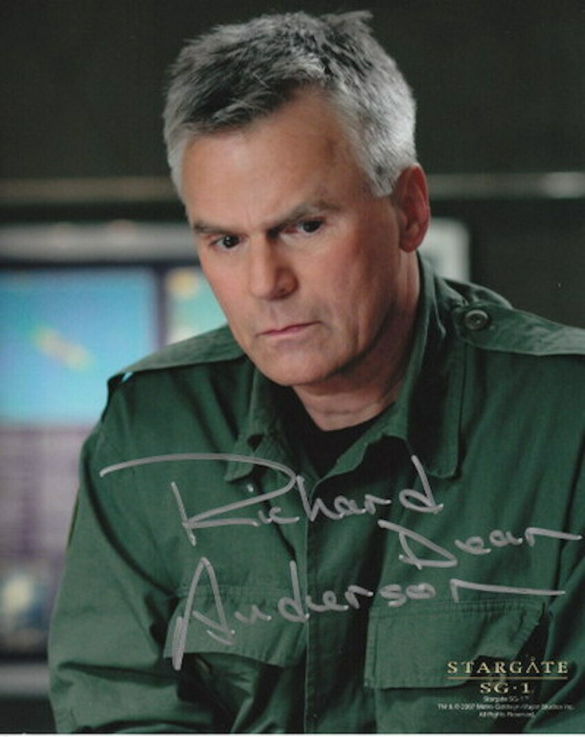 Richard Dean Anderson signed Stargate photo (63497)