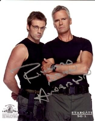 Richard Dean Anderson signed Stargate photo (19915)