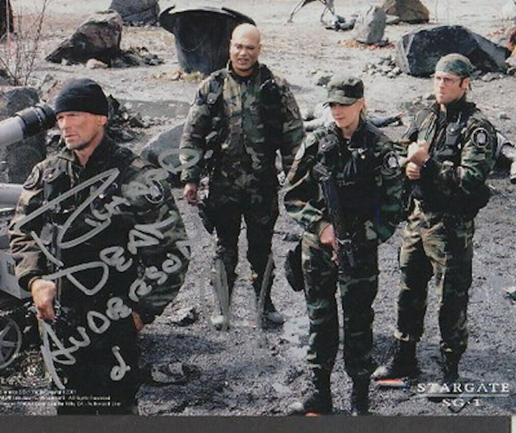 Richard Dean Anderson signed Stargate photo (63281)