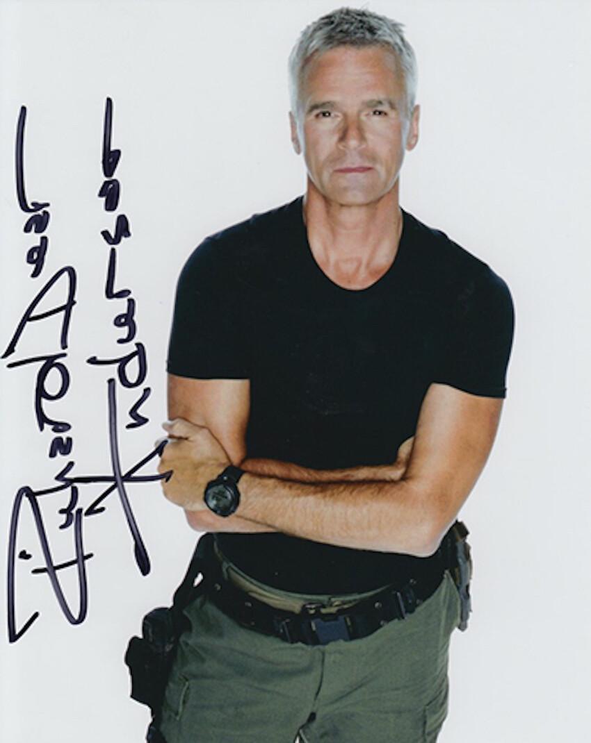 Richard Dean Anderson signed Stargate photo (63980)