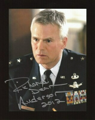 Richard Dean Anderson Signed Photo #63492