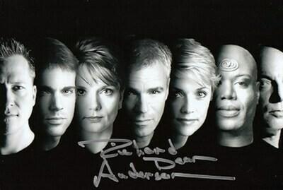 Richard Dean Anderson signed Stargate photo (21607)