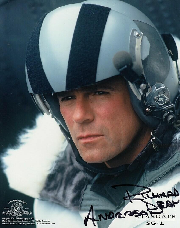 Richard Dean Anderson signed Stargate photo (20495)
