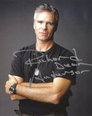 Richard Dean Anderson signed Stargate photo (63545)