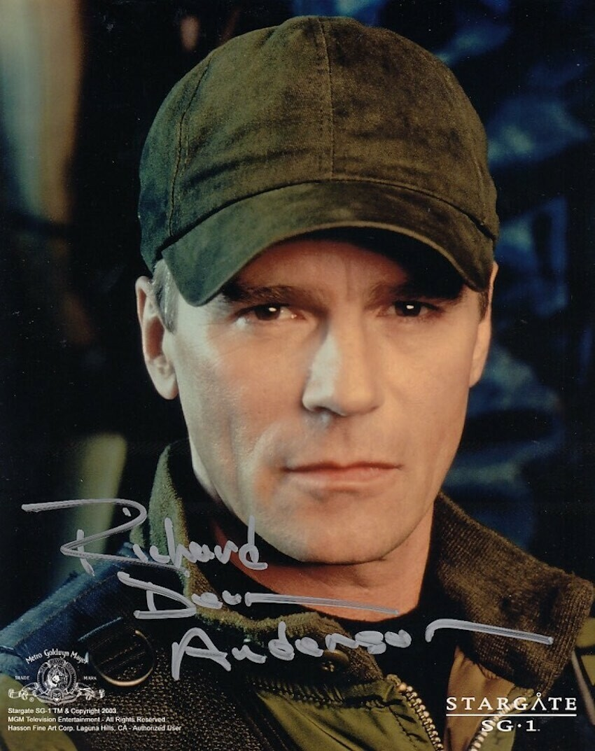 Richard Dean Anderson Signed Photo #19745