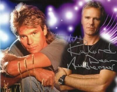 Richard Dean Anderson signed Stargate photo (63559)