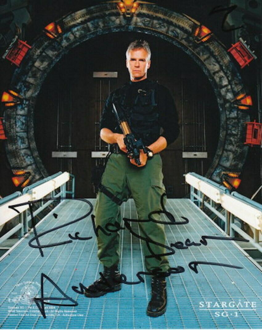 Richard Dean Anderson signed Stargate photo (63494)
