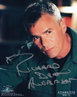 Richard Dean Anderson signed Stargate photo (63880)