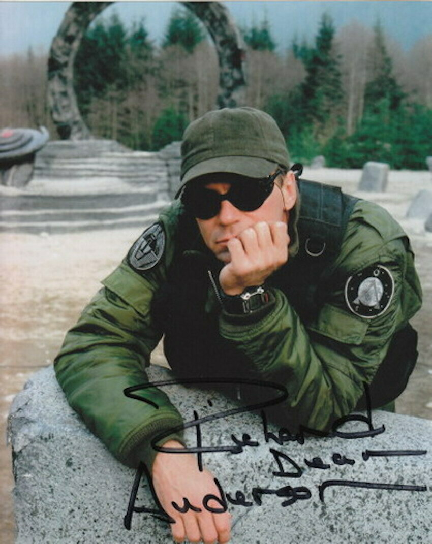 Richard Dean Anderson Signed Photo #63502