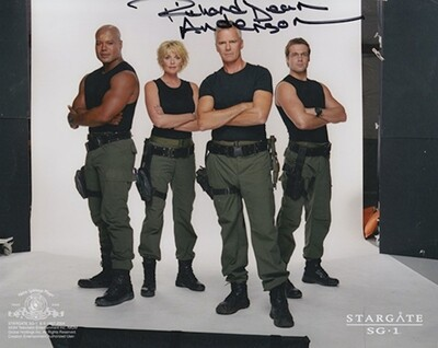 Richard Dean Anderson signed Stargate photo (63963)