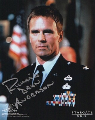 Richard Dean Anderson signed Stargate photo (20496)