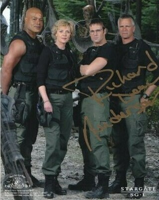 Richard Dean Anderson signed Stargate photo (63302)