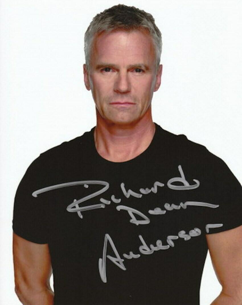 Richard Dean Anderson signed Stargate photo (63512)