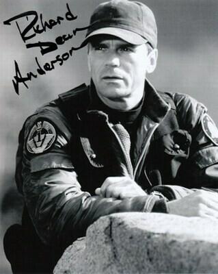 Richard Dean Anderson signed Stargate photo (63619)