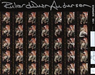 Richard Dean Anderson signed Stargate photo (63923)